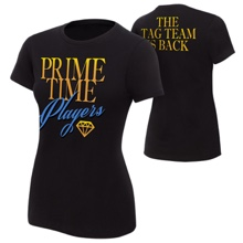 "Prime Time Players ""The Tag Team is Back"" Women's Authentic T-Shirt"