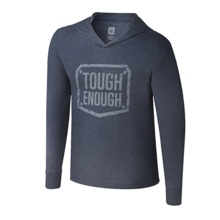 Tough Enough Hooded Pullover Long Sleeve T-Shirt