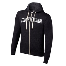 Tough Enough Full-Zip Lightweight Hoodie Sweatshirt