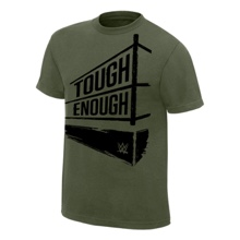 Tough Enough Military Green Youth T-Shirt