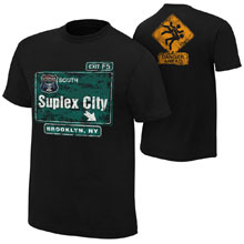 "Brock Lesnar ""Suplex City: Brooklyn"" Authentic T-Shirt"
