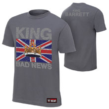 "Bad News Barrett ""King Barrett"" Youth Authentic T-Shirt"