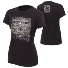 "Dean Ambrose ""Ambrose Asylum"" Women's Authentic T-Shirt"