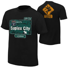 "Brock Lesnar ""Suplex City: London"" Authentic T-Shirt"