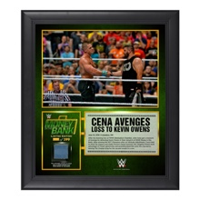 John Cena Money in the Bank 15  x 17 Framed Ring Canvas Photo Collage