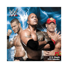 WWE 2016 Mini Wall Calendar