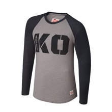 "Kevin Owens ""KO"" Raglan Long Sleeve Shirt"