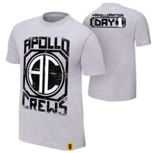 "Apollo Crews ""Since Day 1"" Authentic T-Shirt"