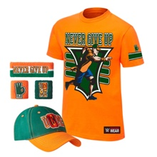 "John Cena ""15X"" Youth Authentic T-Shirt Package"