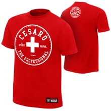 "Cesaro ""The Professional"" Authentic T-Shirt"