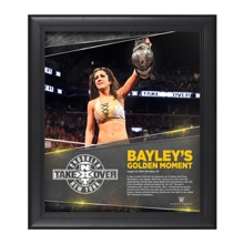 Bayley NXT TakeOver: Brooklyn 15 x 17 Photo Collage Plaque