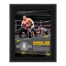 Samoa Joe NXT TakeOver: Brooklyn 10.5 x 13 Photo Collage Plaque