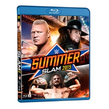 WWE SummerSlam 2015 Blu-ray