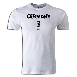 2014 FIFA World Cup Brazil  Germany Supersoft T-Shirt White L