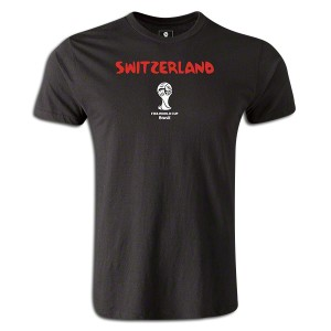 2014 FIFA World Cup BrazilSwitzerland Supersoft T-Shirt Black L