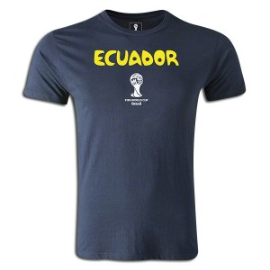 2014 FIFA World Cup Brazil Supersoft Ecuador T-Shirt