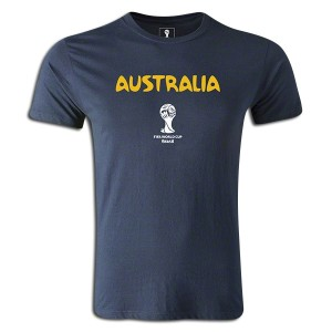 2014 FIFA World Cup Brazil Australia Supersoft T-Shirt