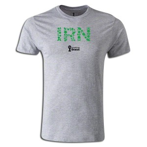 2014 FIFA World Cup Brazil Iran Supersoft T-Shirt