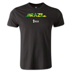 2014 FIFA World Cup Brazil Supersoft T-Shirt Black L