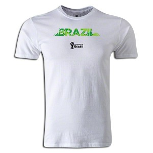 2014 FIFA World Cup Brazil Supersoft T-Shirt White L