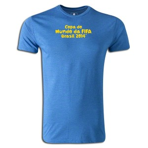 2014 FIFA World Cup Brazil Portuguese Supersoft T-Shirt