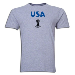 2014 FIFA World Cup Brazil USA Supersoft T-Shirt