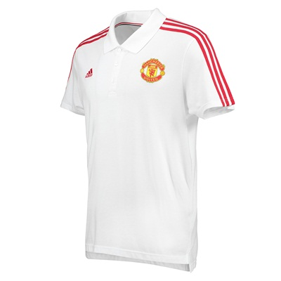 Manchester United Core Polo White