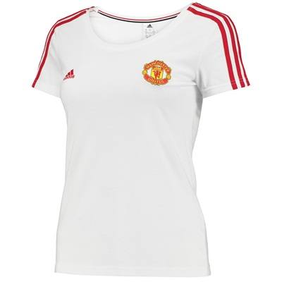 Manchester United Core T-Shirt - Womens White