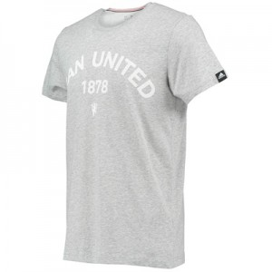 Manchester United Graphic T-Shirt Grey