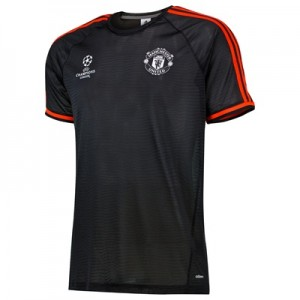 Manchester United UCL Training Jersey Black
