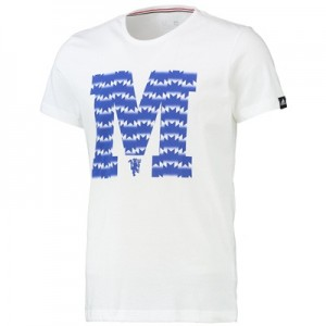 Manchester United Club Graphic T-Shirt White