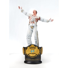 Shawn Michaels Championship Title Collection Statue