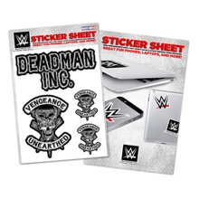 "Undertaker ""Vengeance Unearthed"" Sticker Sheet"