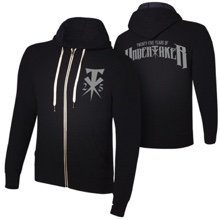"The Undertaker ""25 Years of the Undertaker"" Lightweight Full-Zip Hoodie Sweatshirt"