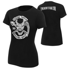 "Undertaker ""Taking Souls and Digging Holes"" Women's Authentic T-Shirt"