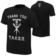 "Undertaker ""Thank You Taker"" Logo T-Shirt"