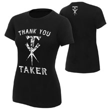 "Undertaker ""Thank You Taker"" Women's Logo T-Shirt"