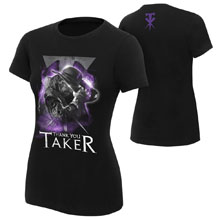 "Undertaker ""Thank You Taker"" Women's Photo T-Shirt"