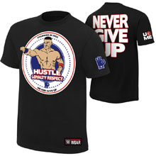 "John Cena ""Hustle Loyalty Respect"" Youth Authentic T-Shirt"
