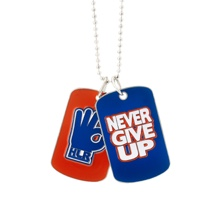 "John Cena ""Hustle Loyalty Respect"" Dog Tags"