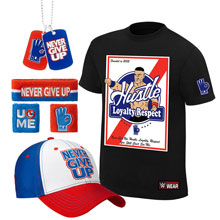 "John Cena ""HLR"" T-Shirt Package"