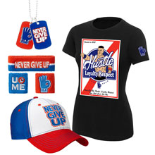 "John Cena ""HLR"" Women's T-Shirt Package"