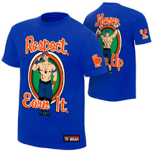 "John Cena ""Respect. Earn It."" Youth Authentic T-Shirt"