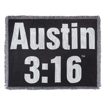 Stone Cold Steve Austin Tapestry Throw Blanket