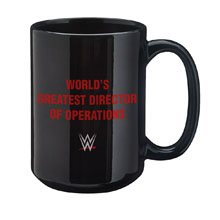 "Kane ""World's Greatest Director of Operations"" 15 oz. Mug"