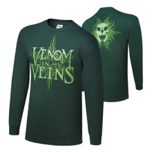 "Randy Orton ""Venom In My Veins"" Long Sleeve T-Shirt"