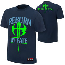 "The Hardy Boyz ""Reborn by Fate"" Youth Authentic T-Shirt"