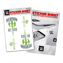 "The Hardy Boyz ""Reborn by Fate"" Sticker Sheet"