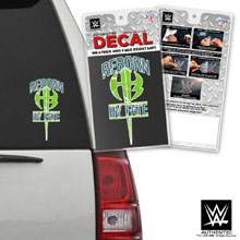 "The Hardy Boyz ""Reborn by Fate"" Car Decal"
