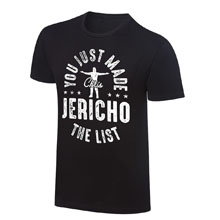 "Chris Jericho ""You Just Made The List!"" Vintage T-Shirt"